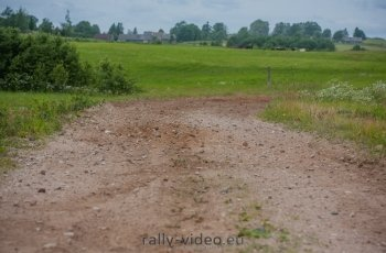 Rally Žemaitija 2015: Rally roads